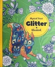, Kleurboek Interstat glitter volwassenen thema mystical forest