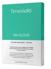, TimeMoto TM-CLOUD 25 user subscribtion