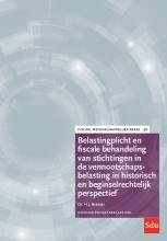 H.J. Bresser , Belastingplicht en fiscale behandeling van stichtingen in de vennootschapsbelasting in historisch en beginselrechtelijk perspectief
