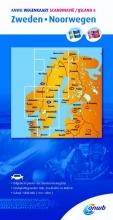 ANWB , Scandinavië/IJsland 6 Zweden/Noorwegen