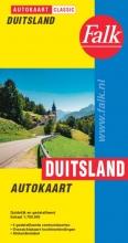 , Falk autokaart Duitsland classic