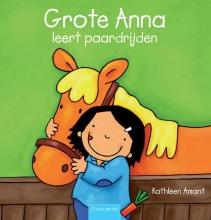 Kathleen  Amant Grote Anna leert paardrijen