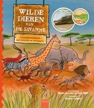 Marja  Baeten Wilde dieren van de savanne
