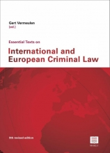 , Essential texts on International and European Criminal Law