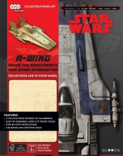 Star Wars A-wing Deluxe Boek met houtmodel