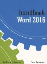 Peter Kassenaar , Handboek Word 2016