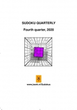 Herman Adèr , Sudoku quarterly