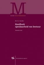 Eric  Daalder Handboek openbaarheid van bestuur