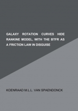 Koenraad M.L.L. Van Spaendonck , Galaxy rotation curves hide Rankine model, with the BTFR as a friction law in disguise