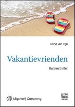 Linda van Rijn Vakantievrienden - grote letter uitgave