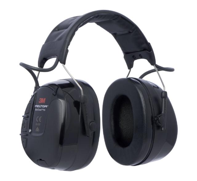 ,Oorkap 3m Peltor radio zwart