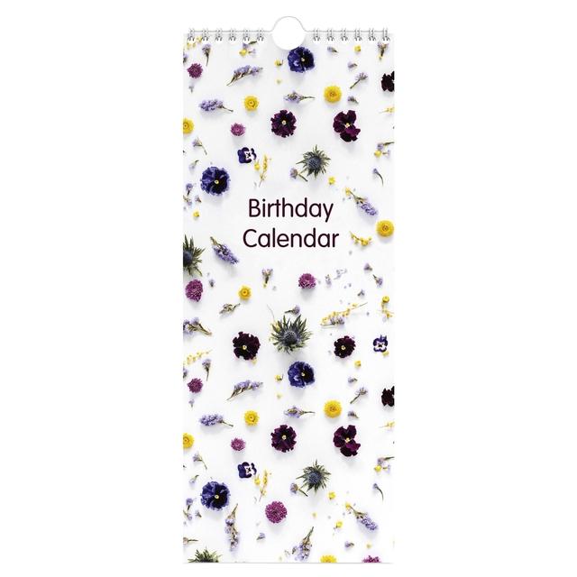 ,Verjaardagskalender flowers