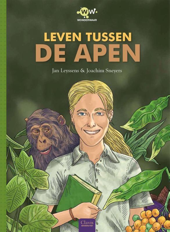 Jan Leyssens,Wonderwaar, Leven tussen de apen