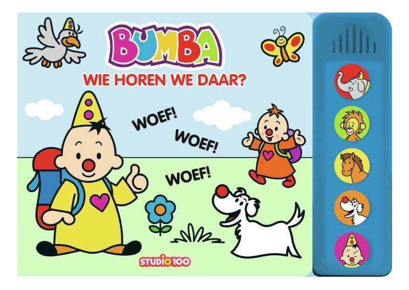 Gert Verhulst,Bumba : boek met dierengeluiden