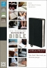 Thinline Reference Bible-NIV-Large Print,New International Version, Ebony Premium Leather, Thinline, Reference