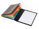 ,documentenmap manager Viquel Rainbow Class ® zwart met      Rainbow tabs