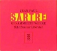 Sartre, Jean-Paul,Gesammelte Werke. 8 Bände. Schriften zur Literatur