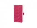 ,notitieboek Sigel Jolie Flair A6 hardcover gelinieerd       Fuchsia roze