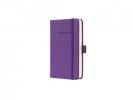 ,<b>notitieboek Sigel Conceptum Pure hardcover A6 paars         gelinieerd</b>