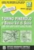 ,IGC Italien 1 : 50 000 Wanderkarte 17 Torino Pinerol