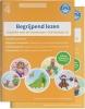 ,Begrijpend lezen oefenboeken compleet, delen 1 en 2 voor groep 4 - begrijpend leesteksten, voorspelopgaven en gatenteksten. Geschikt voor M4/E4