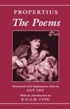 Sextus Propertius,   Guy Lee The Poems