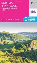 Ordnance Survey Buxton & Matlock, Chesterfield, Bakewell & Dove Dale