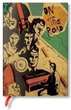 Pb fb7277-5 , Paperblanks notitieboek flexis midi lijn jack kerouac on the road