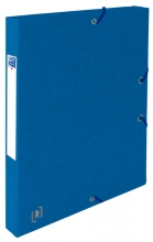 , Elastobox Oxford Top File+ A4 25mm blauw