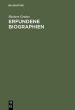 Grabes, Herbert Erfundene Biographien