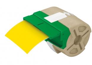 , Etiket Leitz icon labelprint kunststof 88mmx10m geel