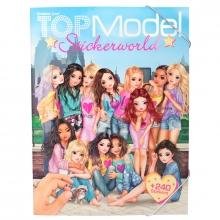 Topmodel stickerworld + 240 stickers