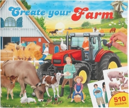 11585 a , Create your farm drawing book
