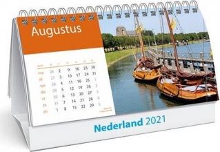 , Desk kalender 2021 holland 21x14