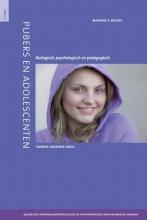 Martine Delfos , Pubers en adolescenten 4 Quadrilogie Ontwikkelingspsychologie en psychopathologie van kinderen en jongeren