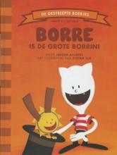 Jeroen  Aalbers Borre is de Grote Borrini