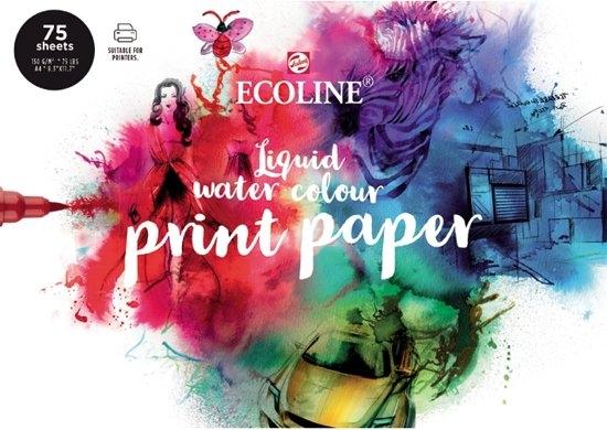 ,Talens ecoline printpapier a4 150 grams