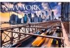 New York 2021, Großer Foto-Wandkalender mit Bildern aus der Metropole in den USA. Travel Edition mit Jahres-Wandplaner. PhotoArt Panorama Querformat: 58x39 cm.