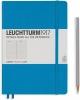 <b>Lt346693</b>,Leuchtturm notitieboek medium 145x210 lijn azuurblauw