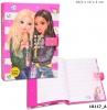 ,<b>Topmodel dagboek met geheime code rose</b>