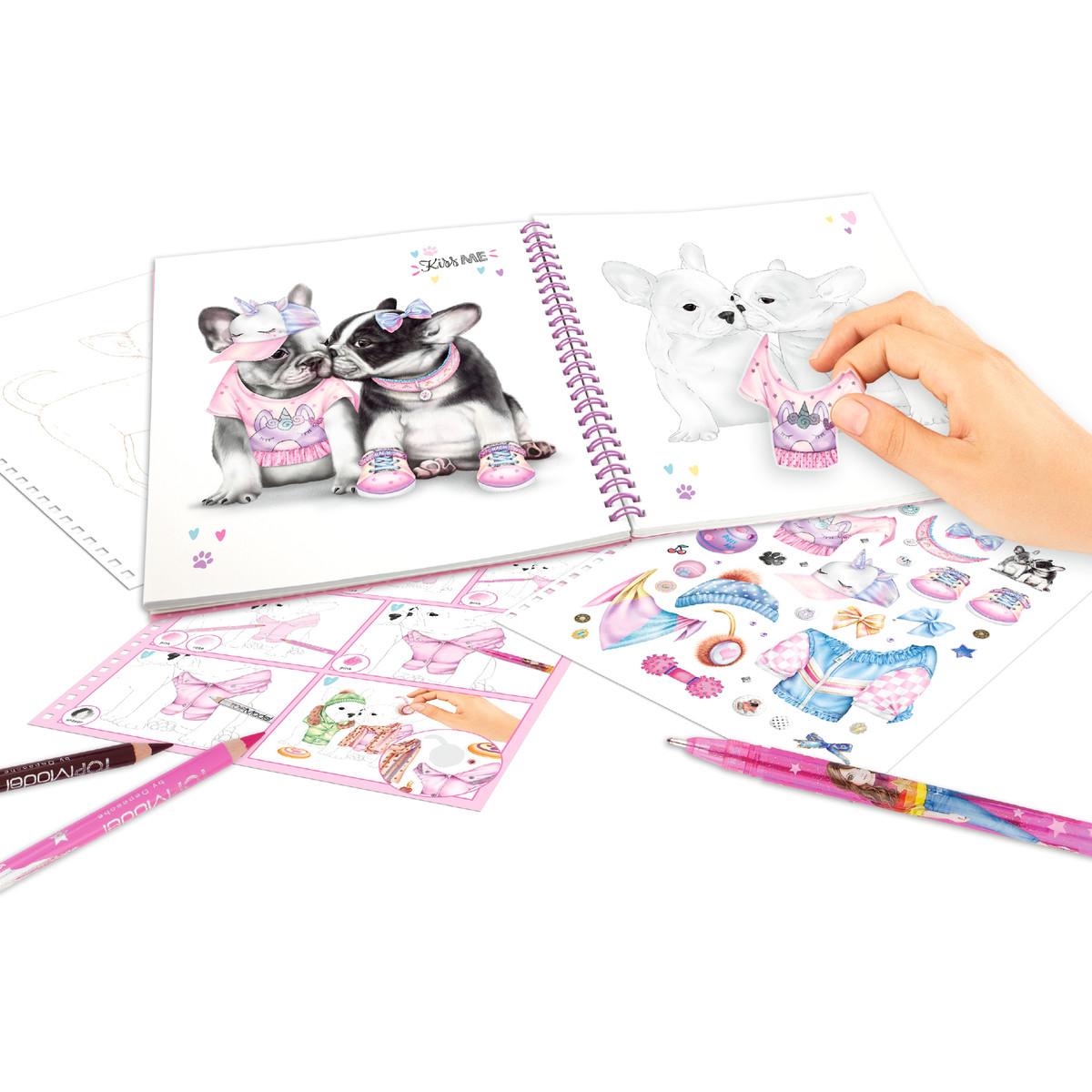 ,Create your topmodel doggy kleurboek