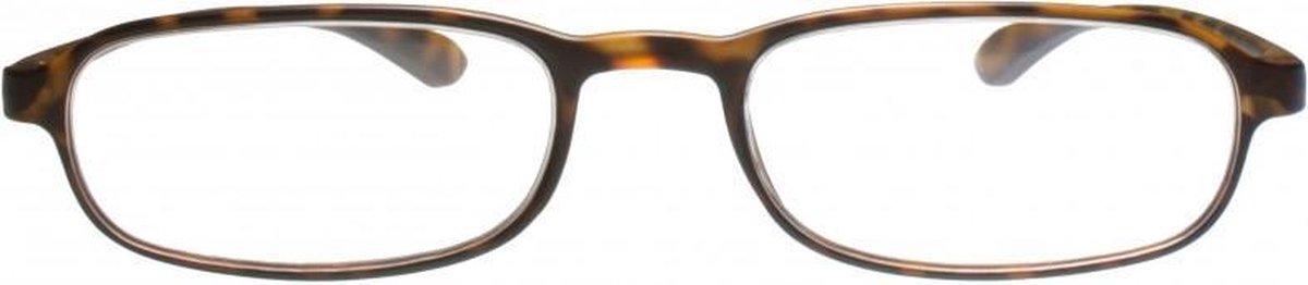 Tcd342,Leesbril icon tr90 tortoise 2.00
