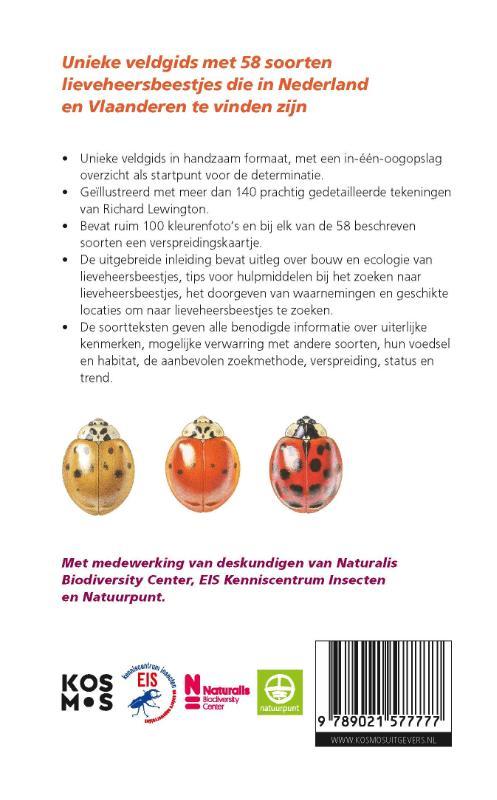 Helen Roy, Peter Brown,Veldgids lieveheersbeestjes voor Nederland en Vlaanderen