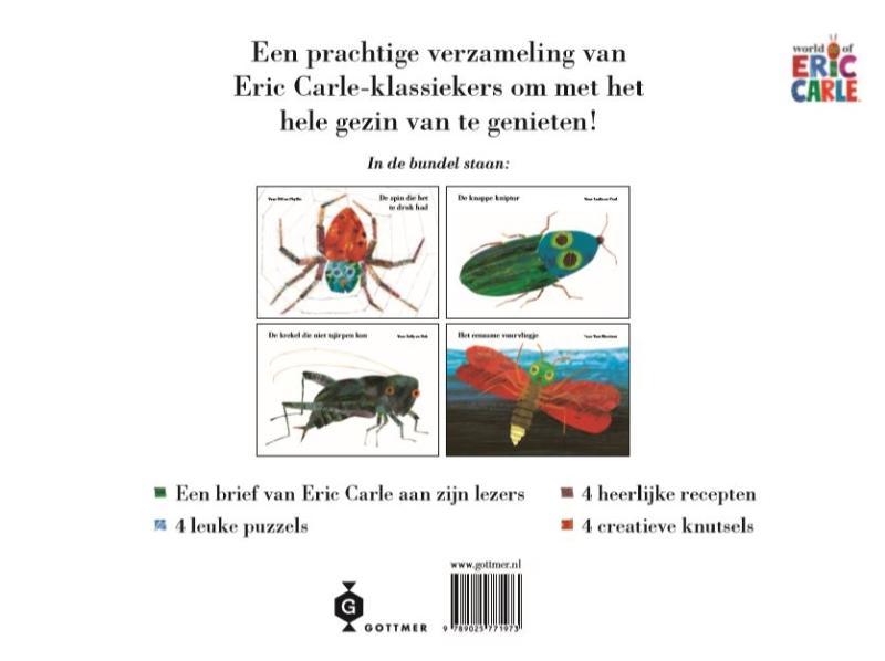 Eric Carle,Het grote boek van kleine beestjes