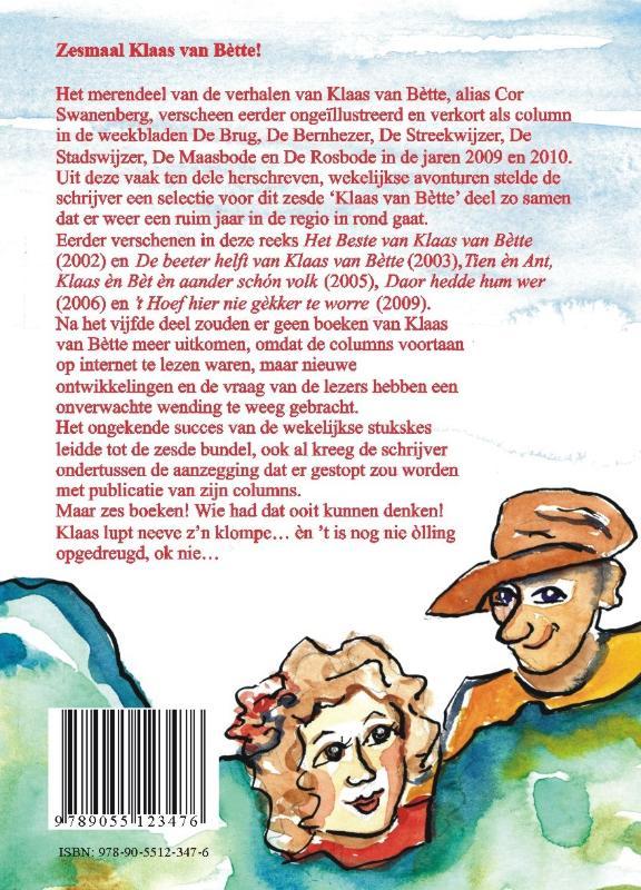 Cor Swanenberg,t Leste van Klaas van Bette