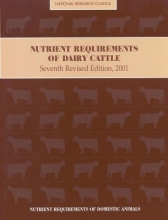 Nutrient Requirements of Dairy Cattle 2001