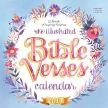 The Illustrated Bible Verses 2017 Calendar