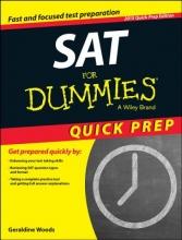 Woods, Geraldine SAT for Dummies 2015 Quick Prep