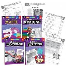 Teacher Created Materials 180 Days of Practice Grade 5 Bundle (Grade 5)
