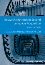Alison Mackey,   Susan M. Gass Research Methods in Second Language Acquisition
